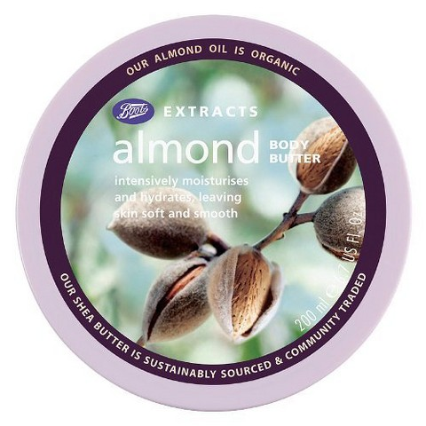Boots Extracts Almond Body Butter - 6.7 oz
