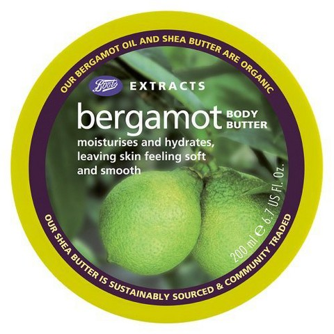 Boots Extracts Bergamot Body Butter - 6.7 oz
