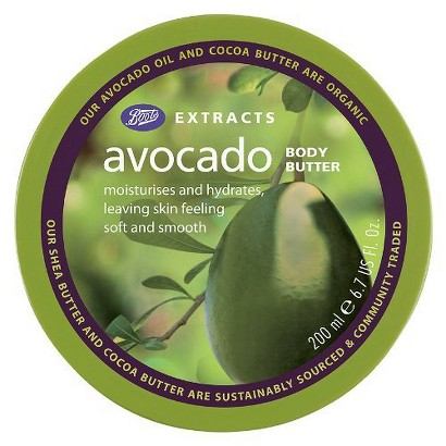 Boots Extracts Avocado Body Butter - 6.7 oz