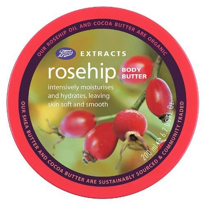 Boots Extracts Rosehip Body Butter - 6.7 oz