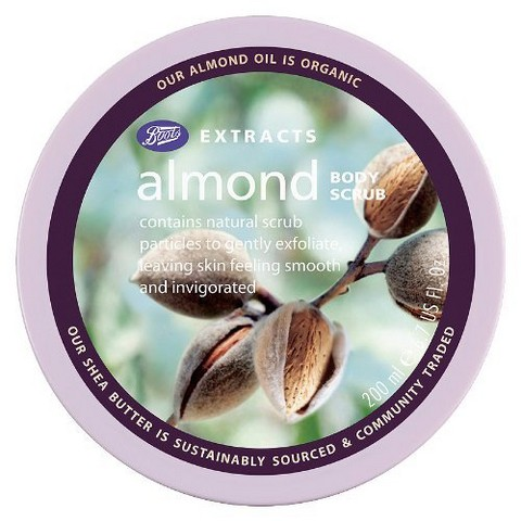 Boots Extracts Almond Body Scrub - 6.7 oz