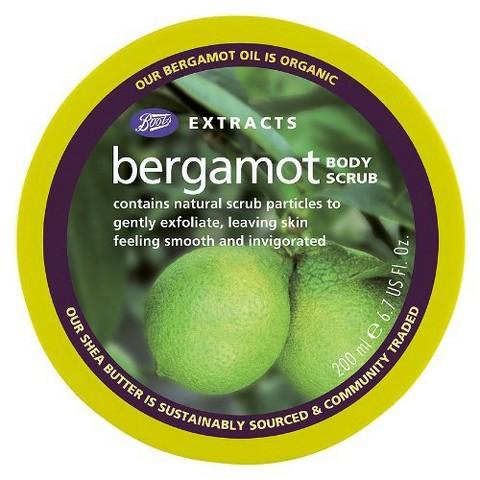 Boots Extracts Bergamot Body Scrub - 6.7 oz