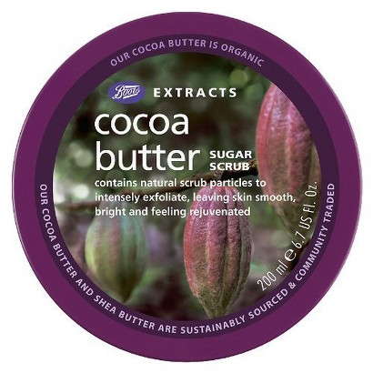 Boots Extracts Cocoa Butter Sugar Scrub - 6.7 oz