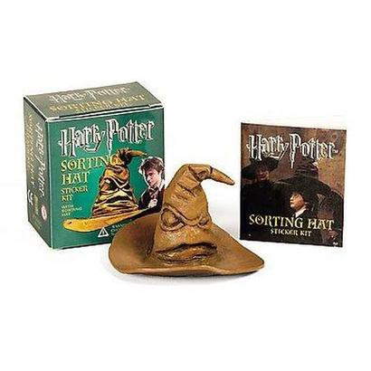 Harry Potter Sorting Hat Sticker Kit (Paperback)
