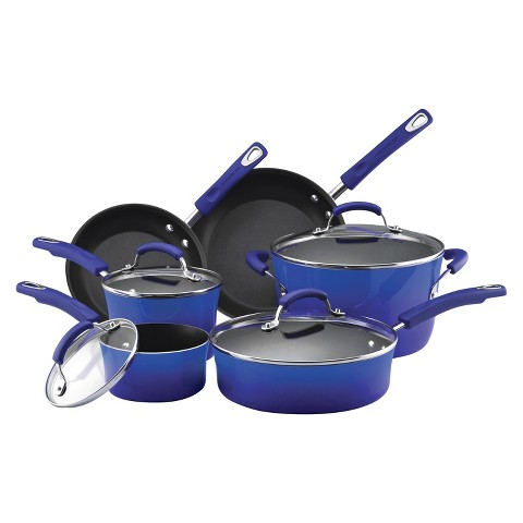 Rachael Ray 10 Piece Porcelain Cook Set