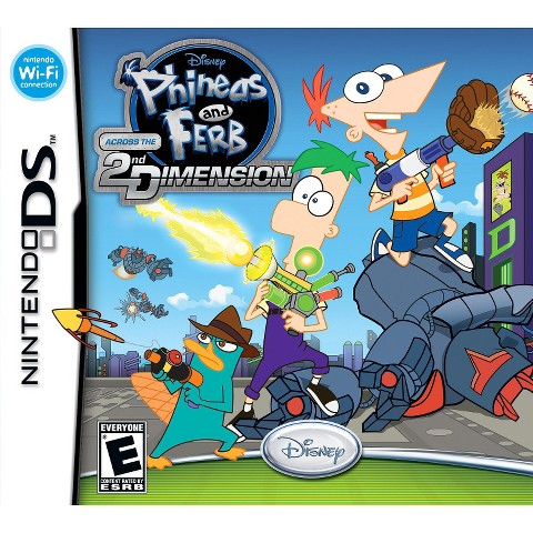 Phineas and  Ferb: Across the 2nd Dimension (Nintendo DS)
