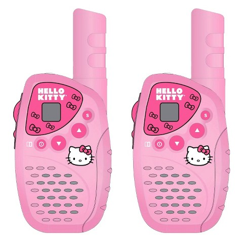 Hello Kitty 22-Channel 4-Mile 2-Way Radio - Pink (KT2022)
