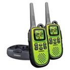 Uniden GMR-2838-2CK 28 Mile Submersible GMRS/FRS 2-Way Radios -Green/Black