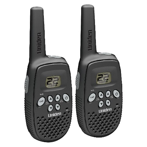 Uniden 16 Mile GMRS/FRS 2-Way Radio Pair - Black (GMR1636-2C)