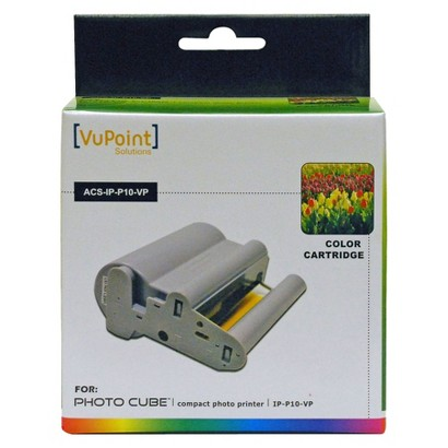 Vupoint ACSIPP10VP Photo Cube Color Cartridge