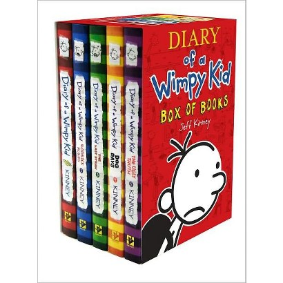 Diary of a Wimpy Kid Box of Books (1-5) (Paperback)