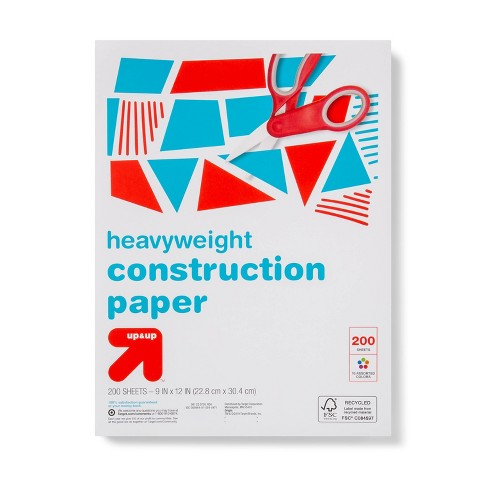 9x12 Construction Paper - 200ct Heavyweight - up & up™