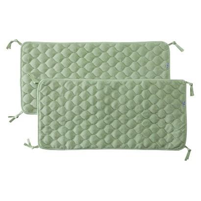 NoJo Crushed Fleece Sheet Saver - 2 pK