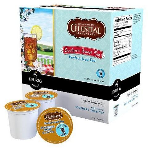 Keurig Celestial Seasonings Southern Sweet Tea K-Cups 96 ct