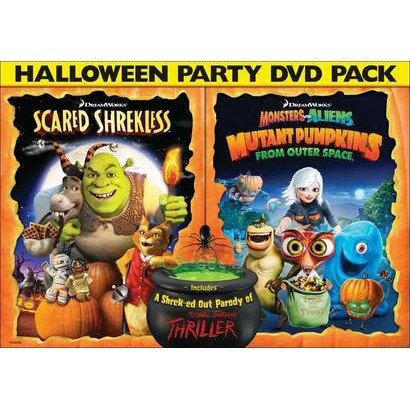Scared Shrekless/Monsters vs. Aliens: Mutant Pumpkins from Outer Space (2 Discs)