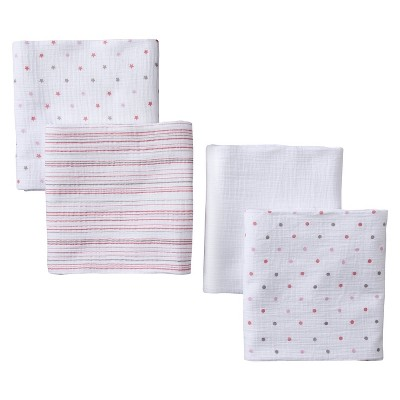 aden® by aden + anais® swaddleplus® 4-pack, oh girl!