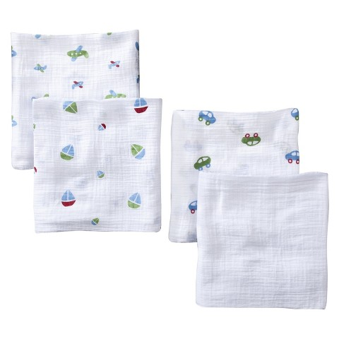 aden® by aden + anais® swaddleplus® 4-pack, boys-n-toys