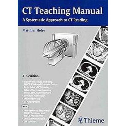 CT Teaching Manual (Paperback)
