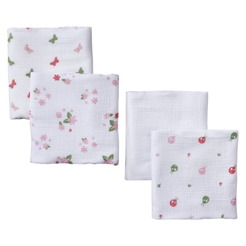 aden® by aden + anais® swaddleplus® 4-pack, butterfly patch