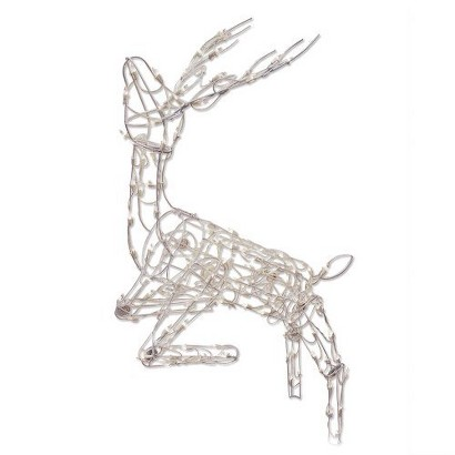 LED Posing Deer - Warm White (35'')
