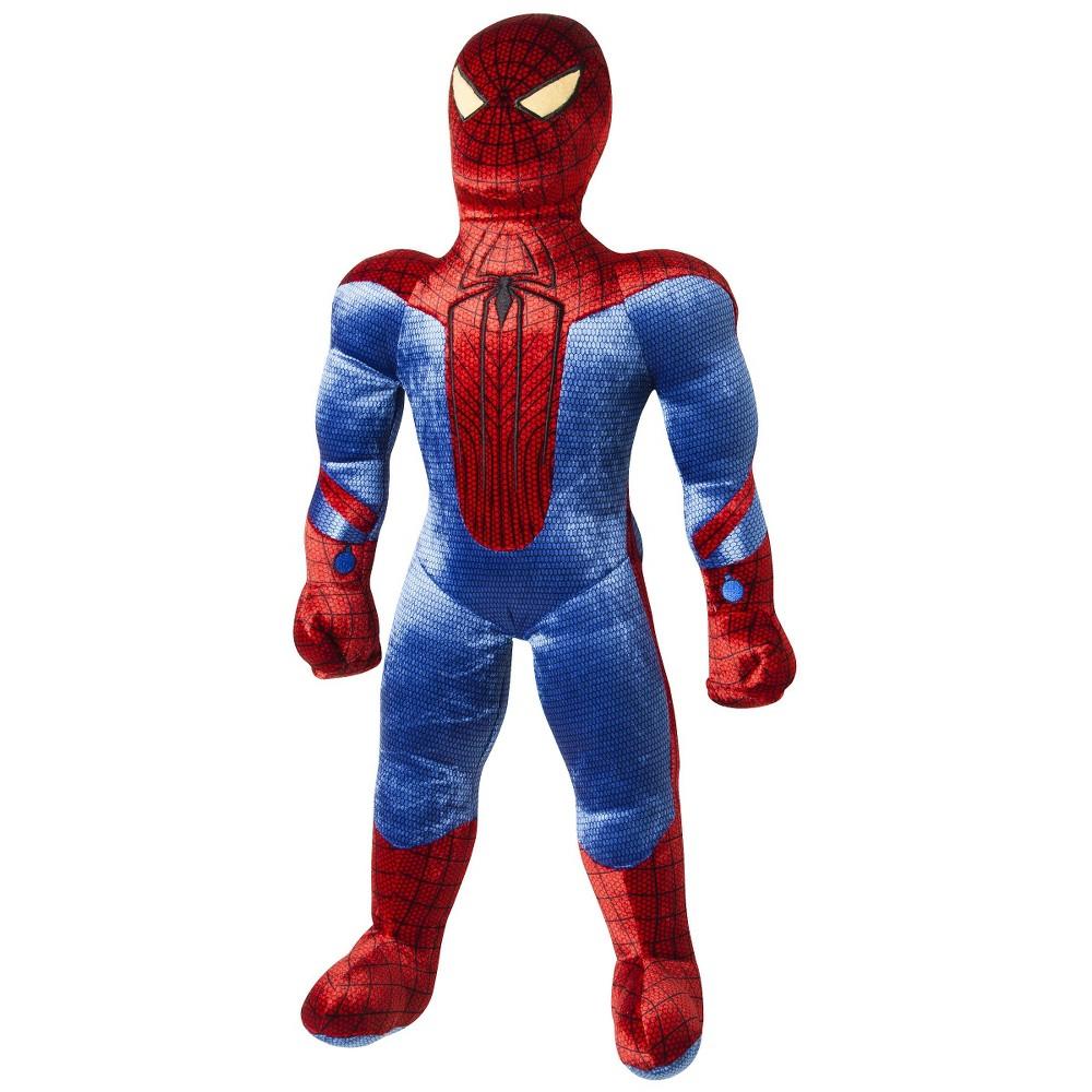 Spider-Man Action Figure Decorative Pillow, Multi-Colored
