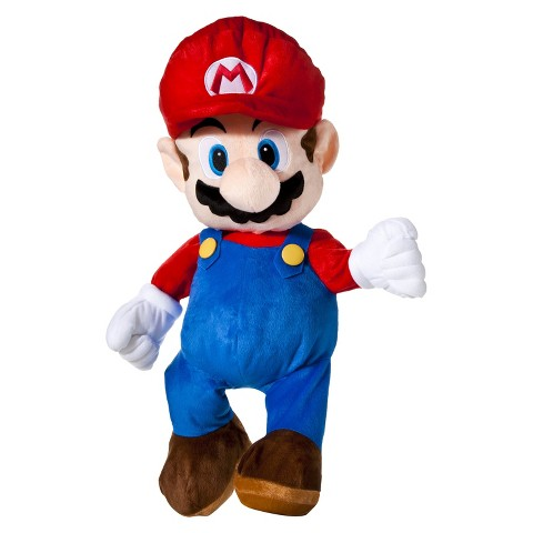 Mario Brothers Plush Cuddle Pillow