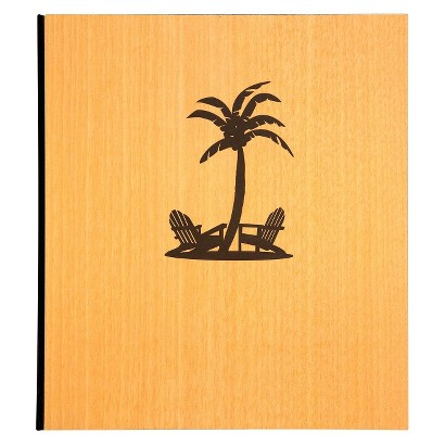 Photo Album 2 Up Palm Tree
