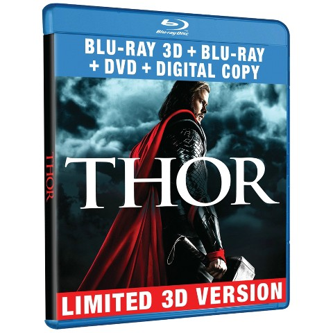 Thor [Includes Digital Copy] [3D] [Blu-ray/DVD]