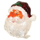 Battery Operated Icy Window Decor Santa - Multicolor (11'')