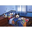 Disney® Mickey Mouse 4 Piece Bed Set - Blue (Toddler)