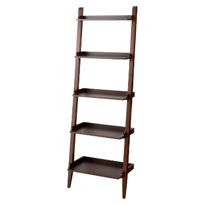 Carson Space Saver Leaning Bookcase - Espresso - Threshold™