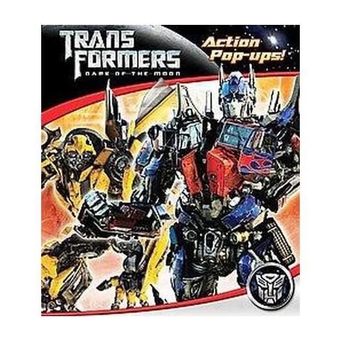 Transformers Dark of the Moon Action Pop-ups!