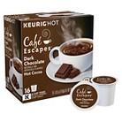 Café Escapes Dark Chocolate Hot Cocoa Keurig K-Cups-16 ct
