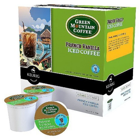 Keurig French Vanilla Iced Coffee K-Cups, 16 Ct.