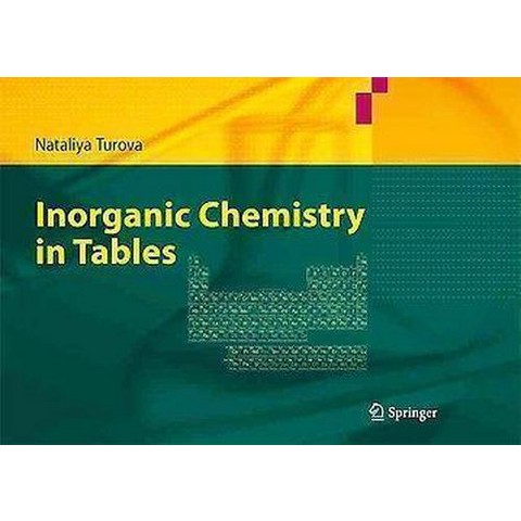 Inorganic Chemistry in Tables (Paperback)