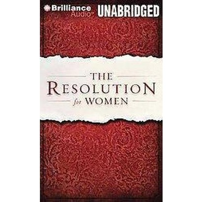 The Resolution for Women (Unabridged) (Compact Disc)