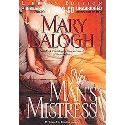 No Man's Mistress (Unabridged) (Compact Disc)