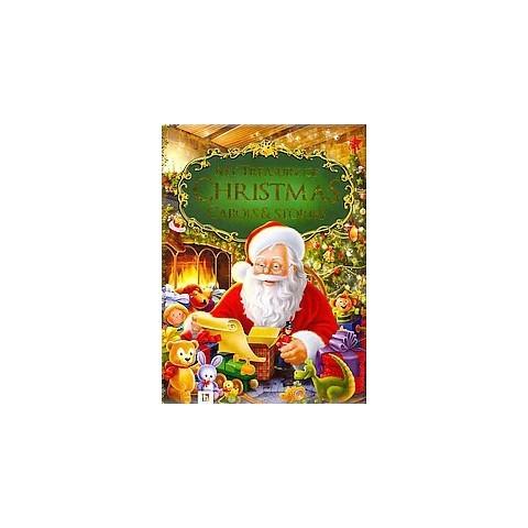 My Treasury of Christmas Carols & Stories (Hardcover)