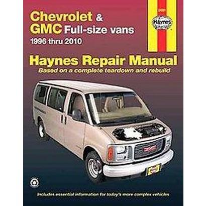 Chevrolet & GMC Full-Size Vans (Paperback)