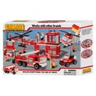 Best-Lock Fire Rescue Building Set - 750 Piece