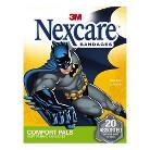 Nexcare Comfort Pals Batman Assorted Soft Fabric Bandages 20-ct.