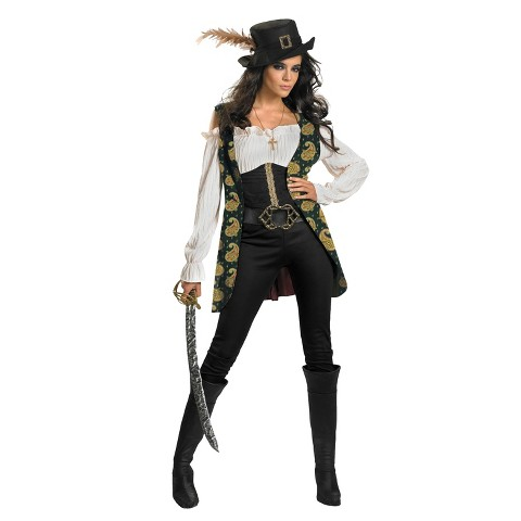 Women's Pirates of the Caribbean - Angelica Deluxe Costume