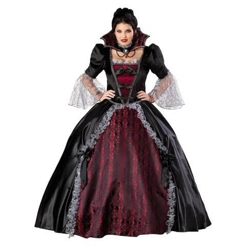 Women's Vampires of Versailles Plus Costume