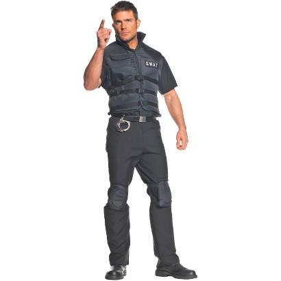 Men's SWAT Plus Costume - XX-Large
