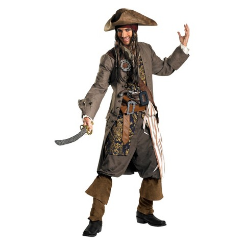 Men's Pirates of the Caribbean - Jack Sparrow Costume