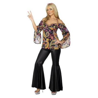 Women's Hippie Plus Costume - X-Large