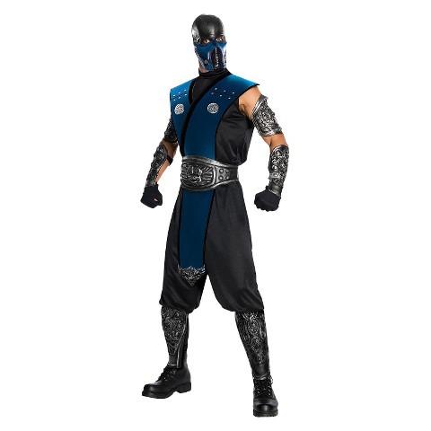 Men's Mortal Kombat - Subzero Costume - One Size Fits Most