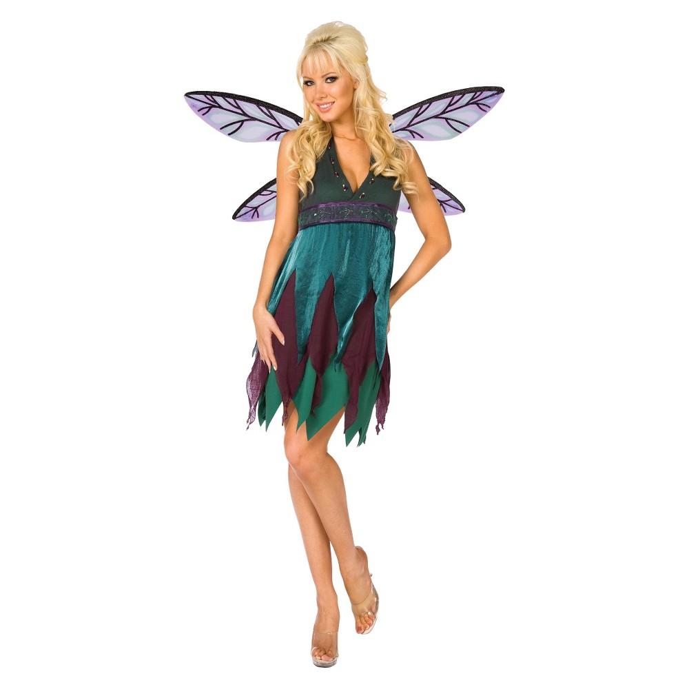 Women's Midnight Dragon Fly Costume - Plus Size