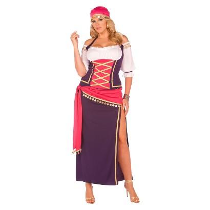 Women's Gypsy Maiden Plus Costume