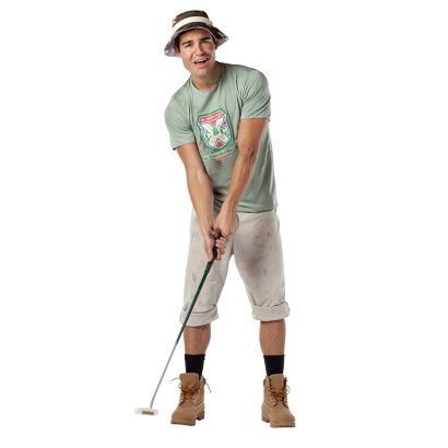 Men's Caddyshack - Carl Spackler Costume - One Size Fits Most